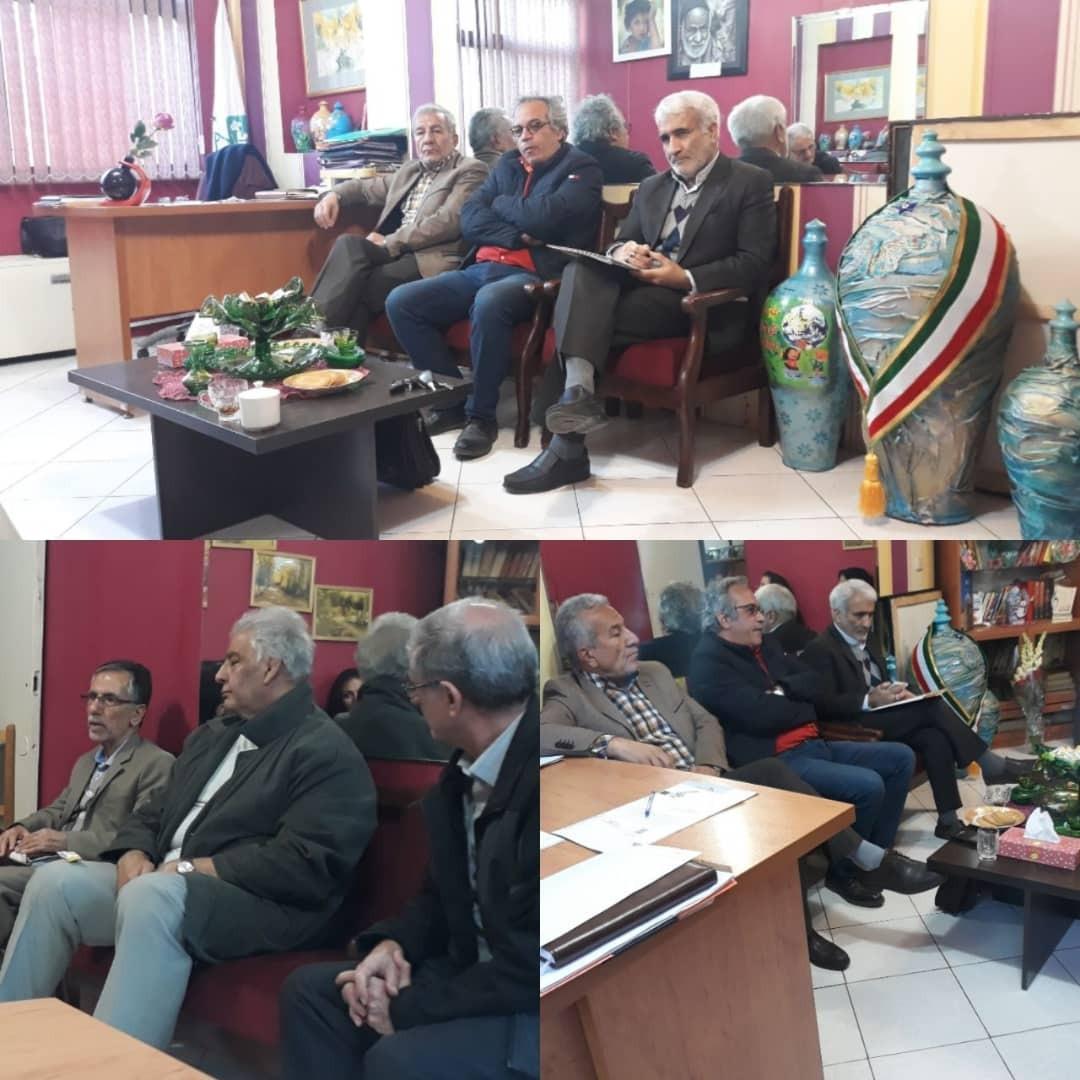 گزارش جلسه چهارشنبه مورخ ۲۱ آذر ۹۷در دفتر مرکزی موسسه موعود ایرانیان