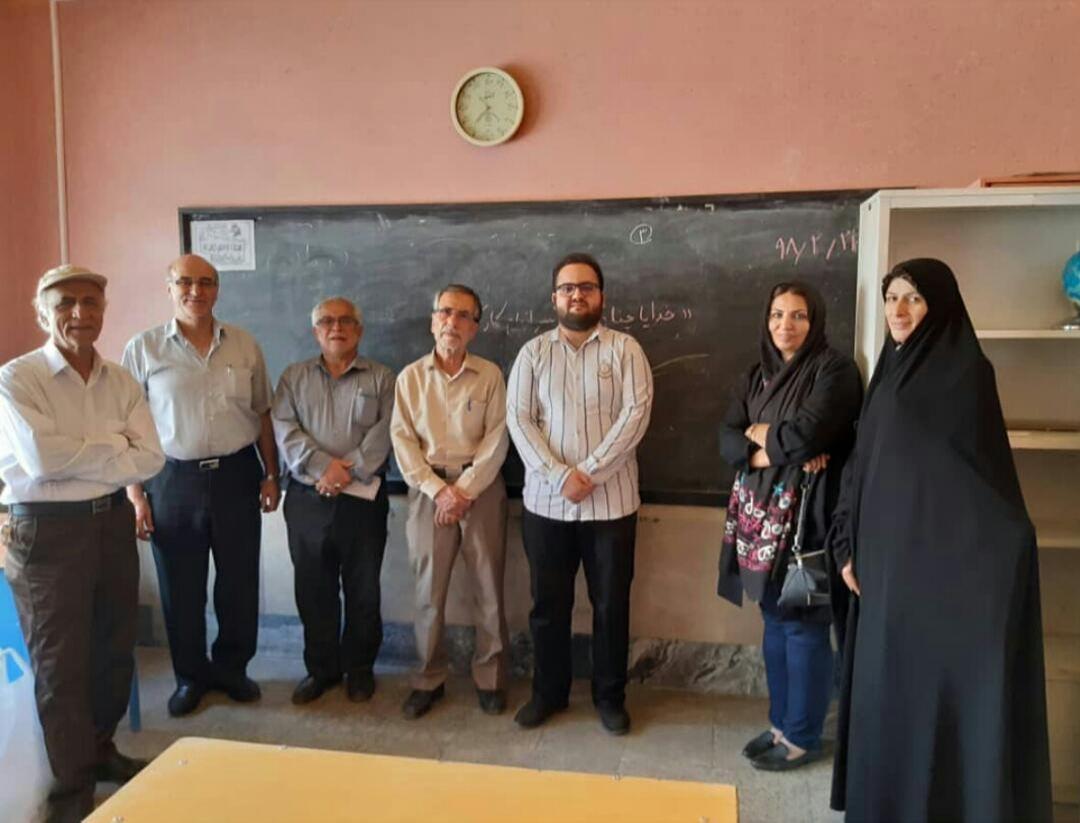 بازدید از دبستان پسرانه شهید سرداد