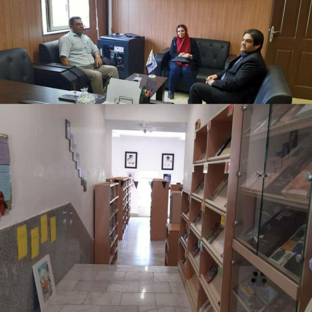 راه اندازی کتابخانه ای با کتابهای آموزشی و کمک درسی ویژه دانش آموزان